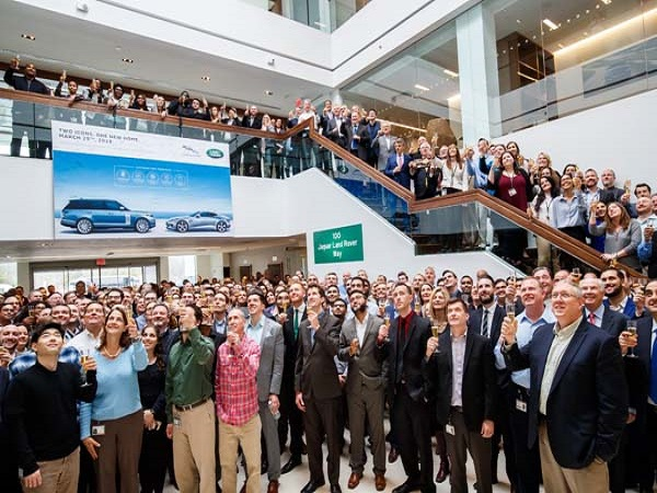 Jaguar Land Rover shows its commitment to the US market by opening new headquarters