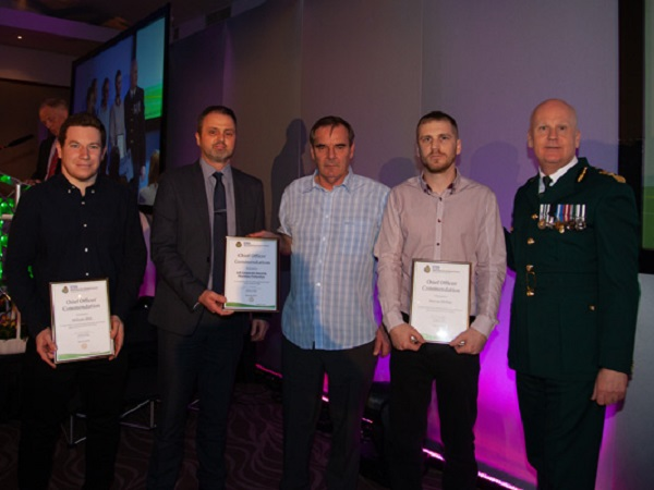 Business Protection team receives West Midlands Ambulance Service Excellence Award