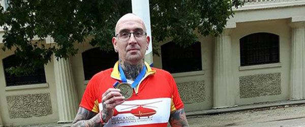 Conrad Westwood raises over £350 for Midlands Air Ambulance