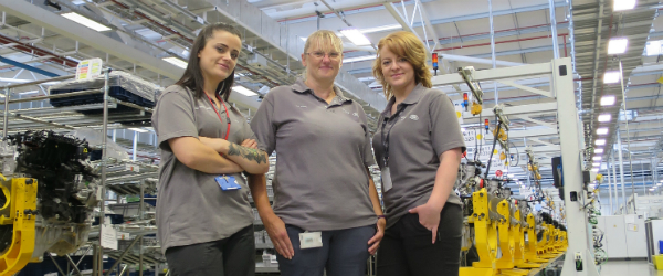 Engine Plant is on the lookout for more women to join its team
