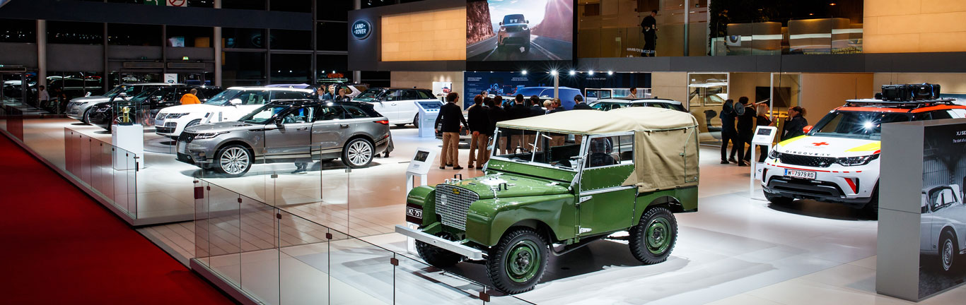 Jaguar Land Rover has plenty to celebrate at the Paris Motor Show