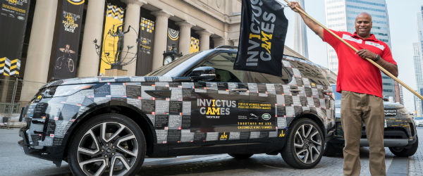 Jaguar Land Rover celebrates Team behind the Team at Invictus Games