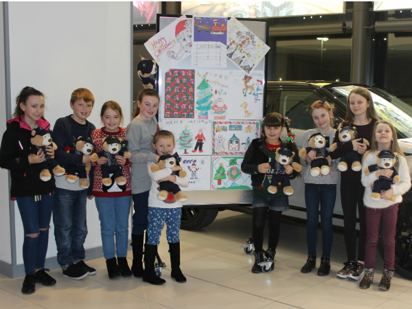 Meet the winners of our Charlie's Chance Christmas Card Competition