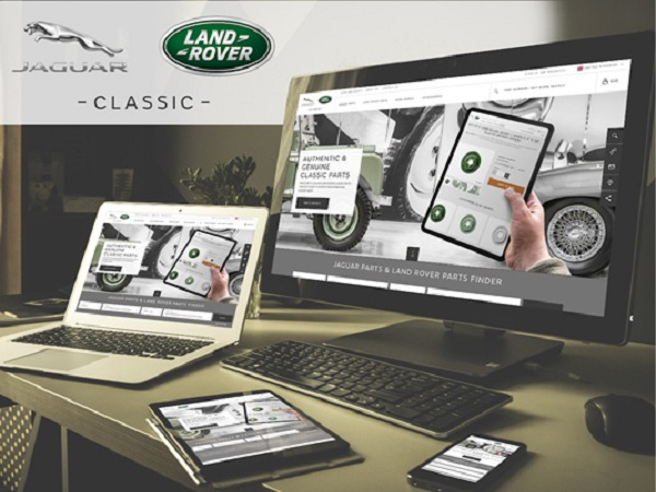 New Classic Parts website is the perfect one-stop shop for Jaguar and Land Rover owners