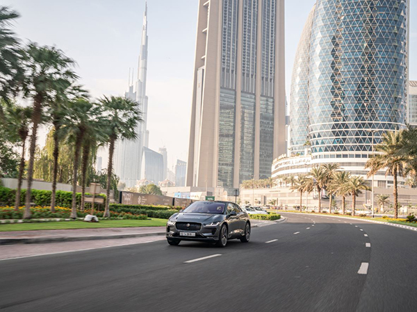 SELF-DRIVING PROTOTYPE JAGUAR I-PACE HITS THE ROADS FOR THE FIRST TIME IN DUBAI