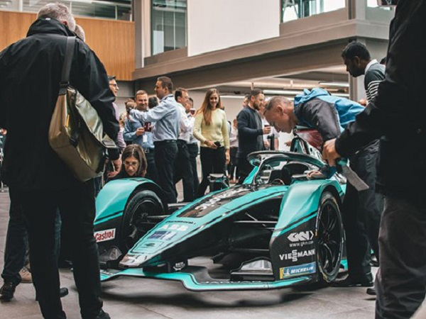 Panasonic Jaguar Racing is raring to go as it unveils its car and drivers for the new season