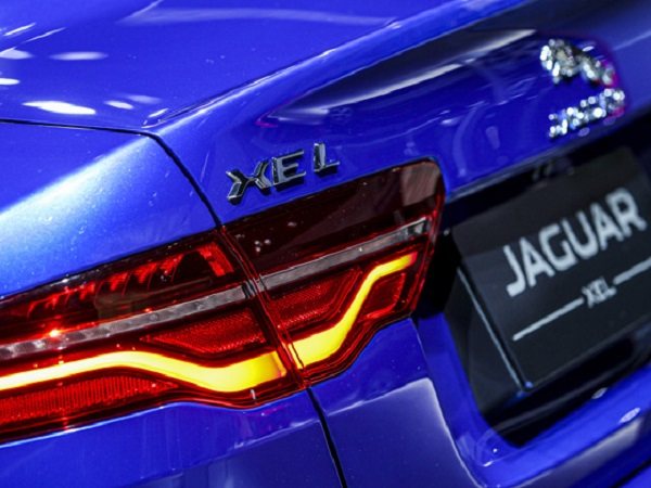 New Jaguar XEL is revealed at the Chengdu Motor Show