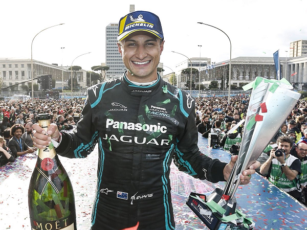 Win Panasonic Jaguar merchandise to celebrate Mitch Evans win in Rome!