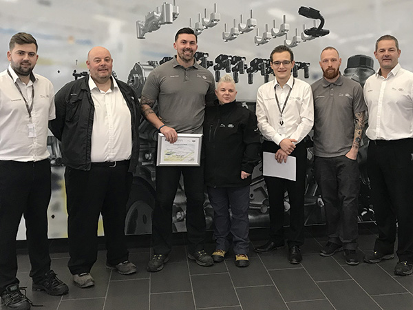 Callum Wood named EMC Employee of the Month for November
