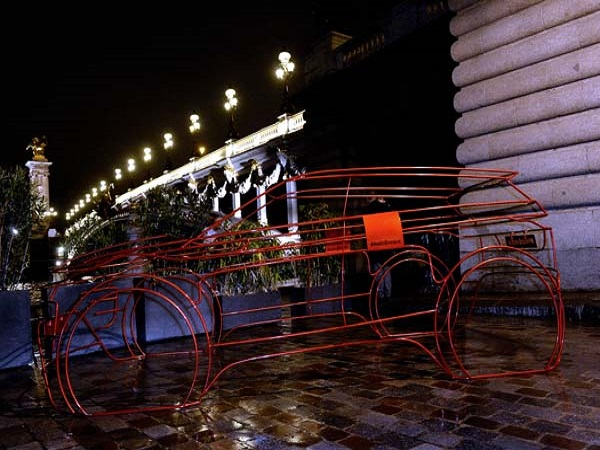 Paris celebrates the launch of the new Range Rover Evoque