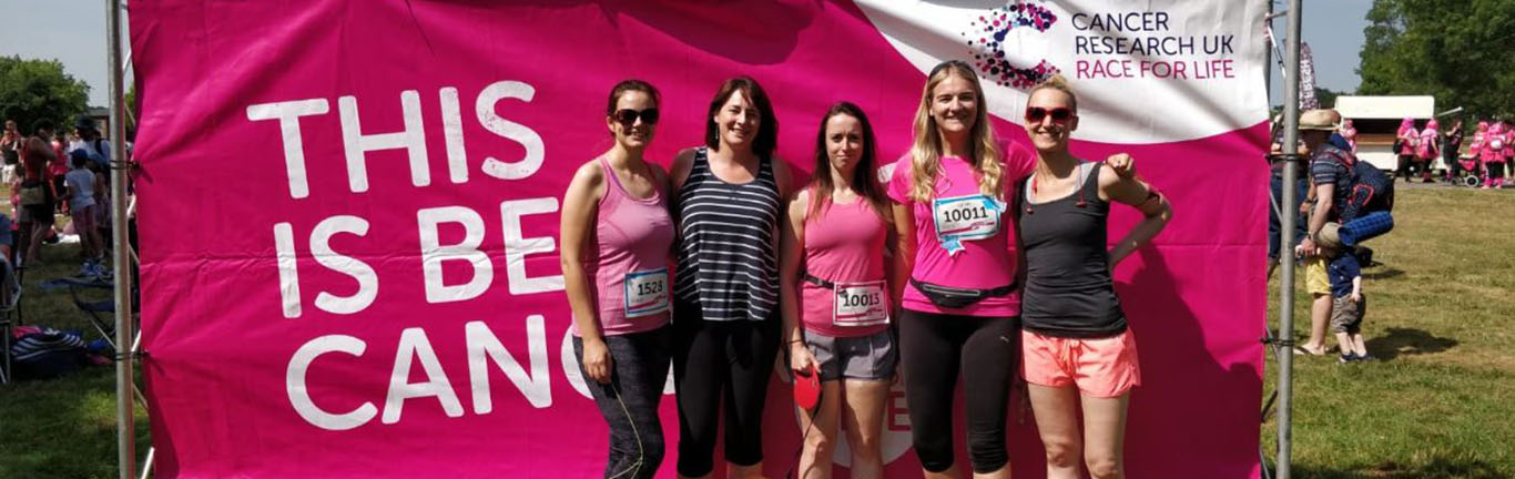 Castle Bromwich's HR Team Raise Over £1000 Through Race For Life