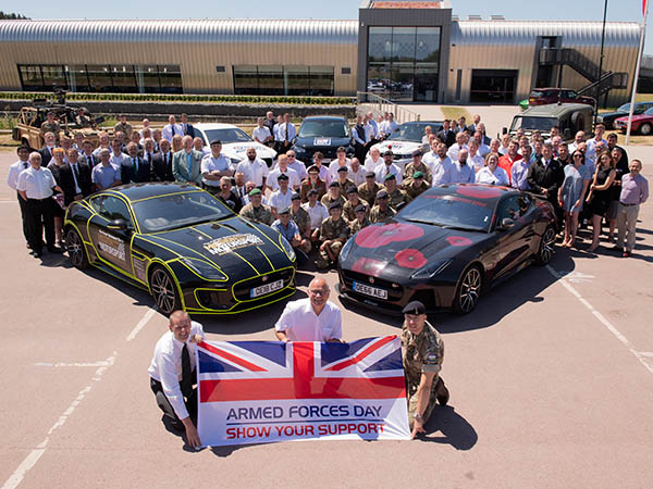 Jaguar Land Rover Holds Annual Armed Forces Conference