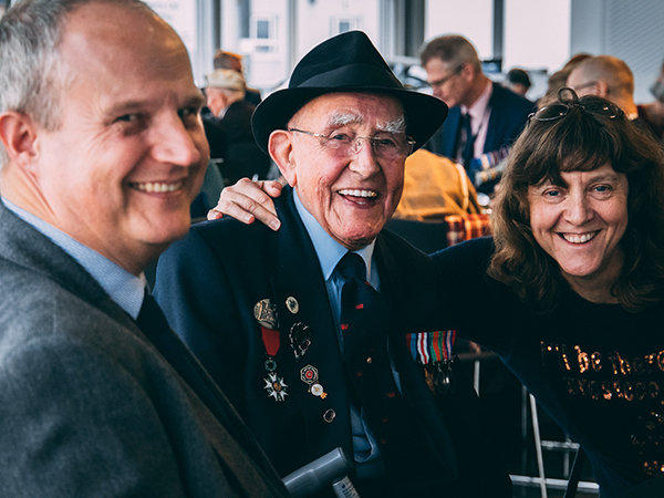 Castle Bromwich Hosts D-Day Veterans Christmas Party