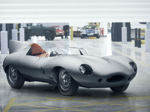 Jaguar restarts production of legendary D-TYPE racecar