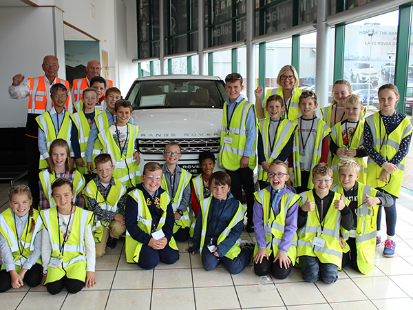 Halewood welcomes our youngest ever group of Young Engineers