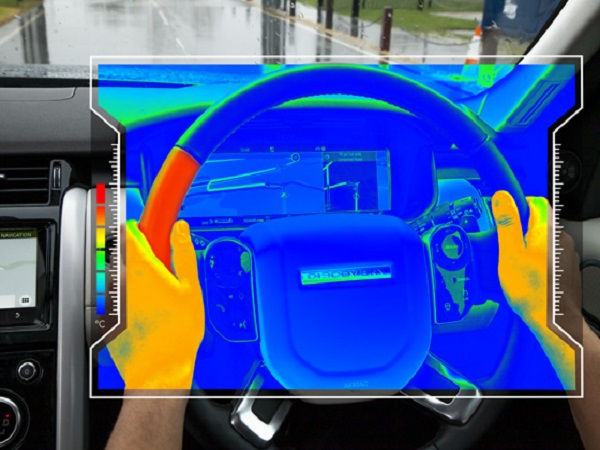 New sensory steering wheel technology will keep your eyes focused on the road