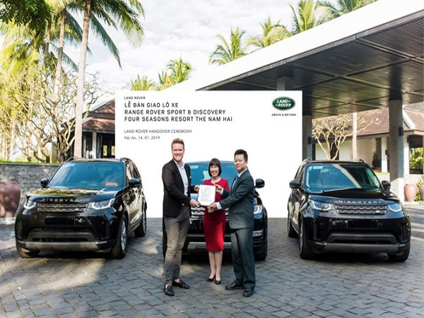 Land Rover provides luxury transport for Four Seasons Resort in Vietnam