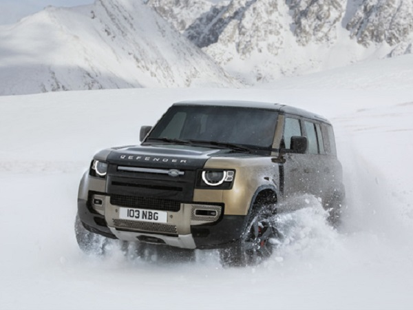 The world reacts as the New Land Rover Defender is revealed in Frankfurt