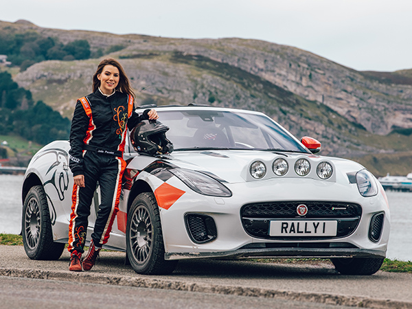 Jaguar F-TYPE Rally Car Makes Final Appearance At 2019 Wales Rally GB