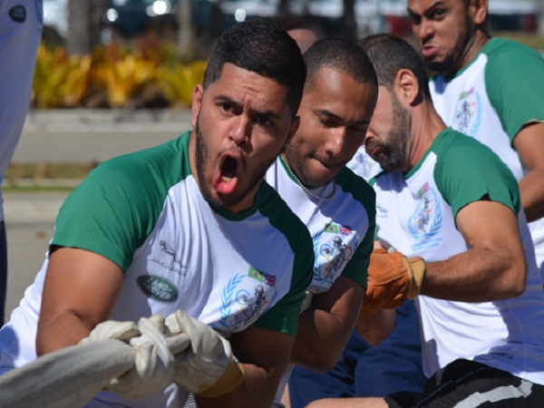 Brazilian colleagues battle it out in the first Business Protection Olympic Games