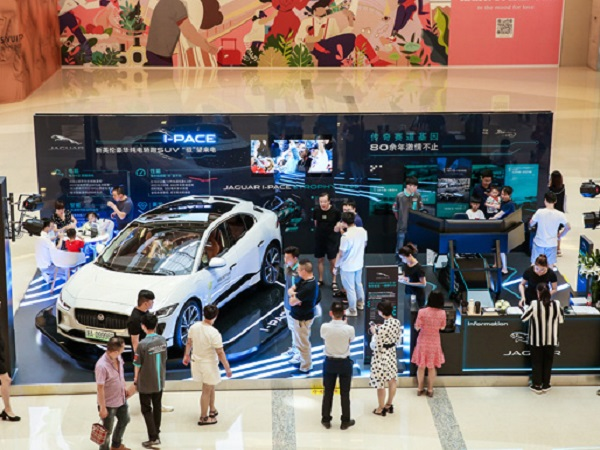 China's I-PACE pop-up powers public interest in electric vehicles