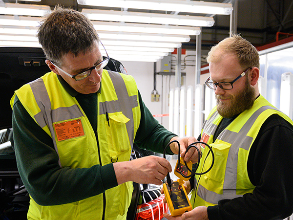 TIC Team Loose Change Focus On Electric Safety at Castle Bromwich
