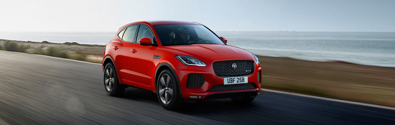 Chequered Flag special edition joins the Jaguar E-PACE line-up