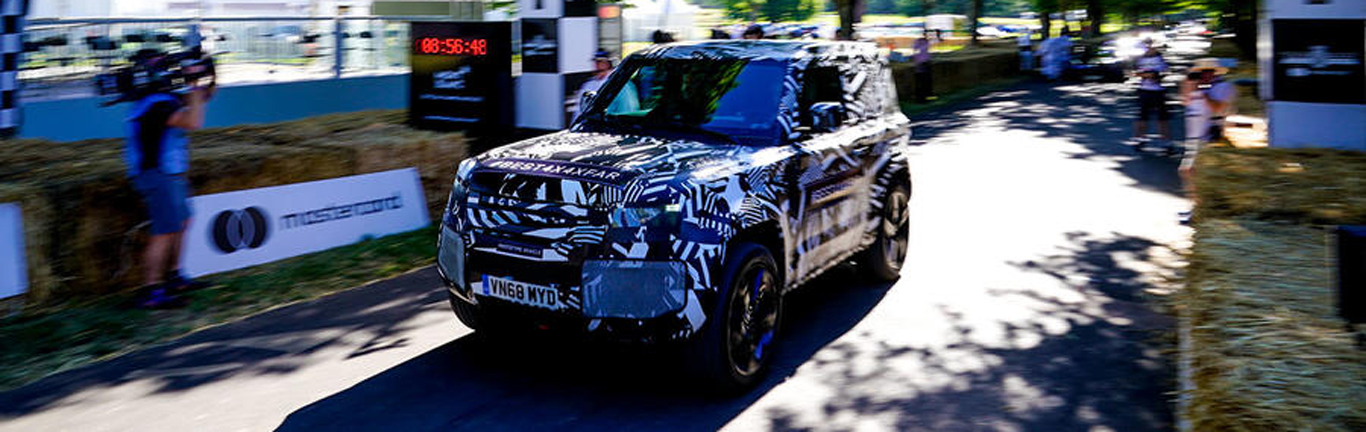 New Land Rover Defender wows crowd at Goodwood Festival of Speed