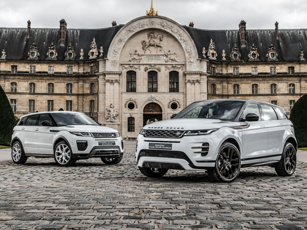 Range Rover Evoque's interior voted most beautiful at Paris International Automobile Festival