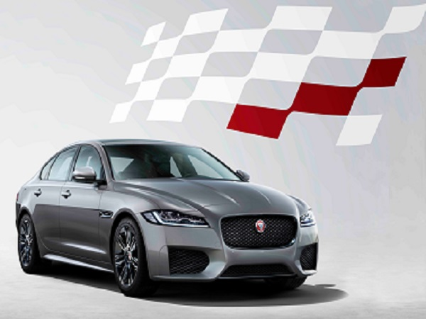 Chequered Flag edition of the Jaguar XF launched