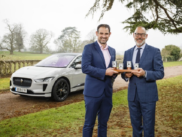 Jaguar I-PACE claims UK Car of the Year 2019 accolade