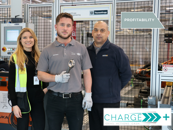 TEAM FROM THE ENGINE MANUFACTURING CENTRE WAVE GOODBYE TO PLASTIC PACKAGING WHILST SAVING £145,000