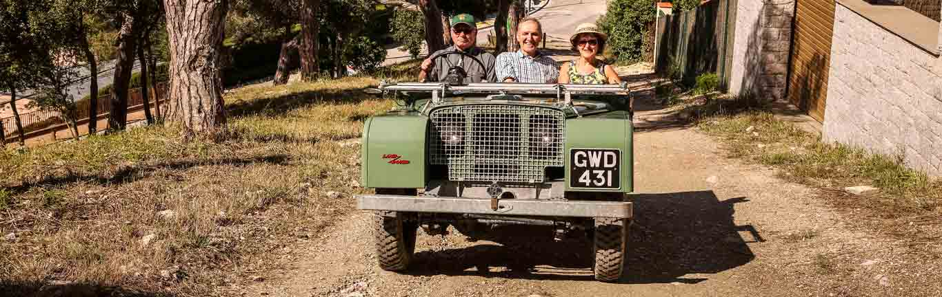 Land Rover Series I returns to Barcelona 70 years after its first appearance