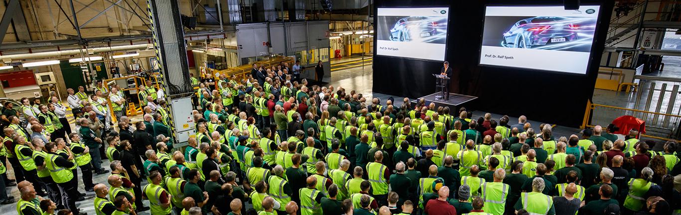 Castle Bromwich - Electrification Announcement - Event Images Now Available