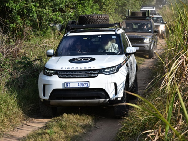 Celebrating the Land Rover Discovery's sense of adventure