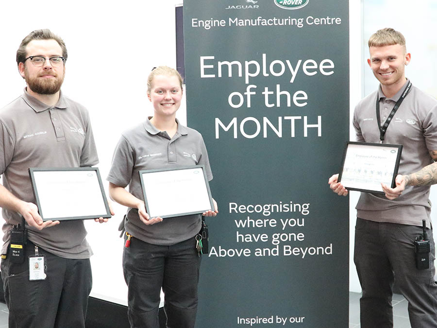 Reece Potts wins Employee of the Month