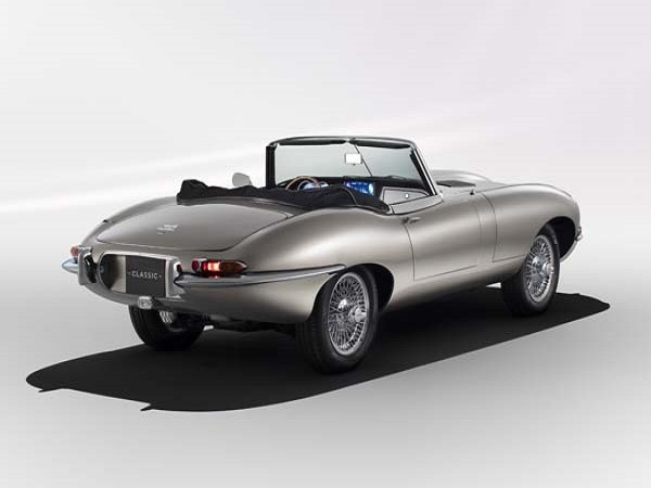 Electric Jaguar E-type conversion gets production go-ahead
