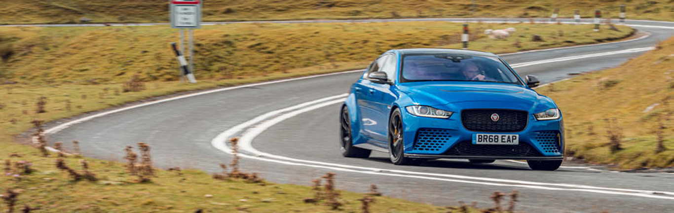 UK media charmed by discreet XE SV Project 8 Touring Edition