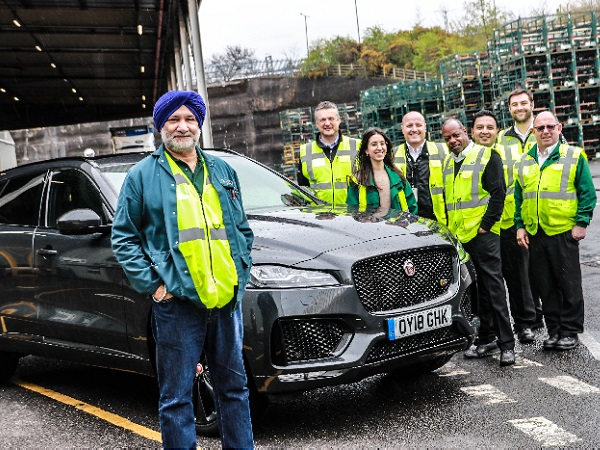Because I'm 'appy! Solihull's first YOUR JLR competition winner is announced