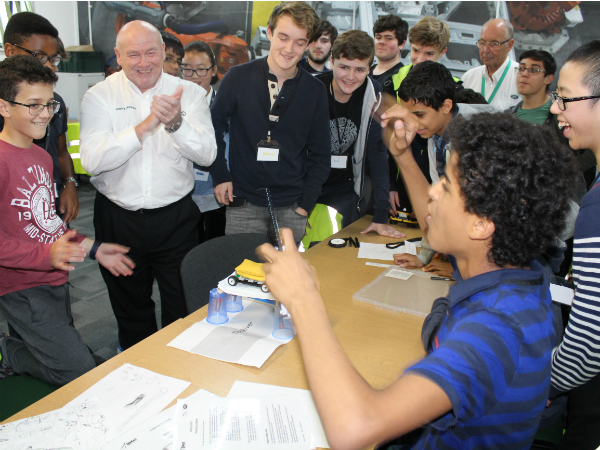 Inspiring Young Engineers recent half term visit Halewood