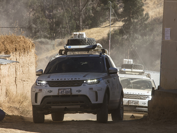 On the trail of the Incas: Land Rover Experience Tour Ends in Machu Picchu