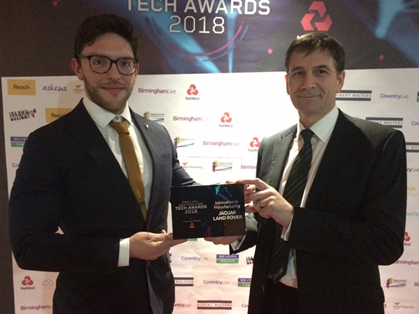 PTO bright sparks win West Mids Tech Award