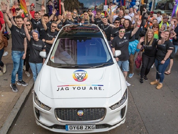 Jag You Are: I-PACE takes centre stage during PRIDE Birmingham festival