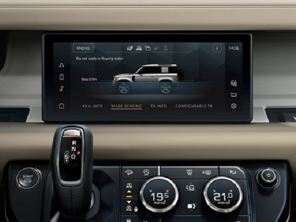 Technology is at the heart of the New Land Rover Defender