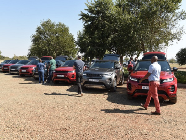 Africa's media get to grips with the new Range Rover Evoque