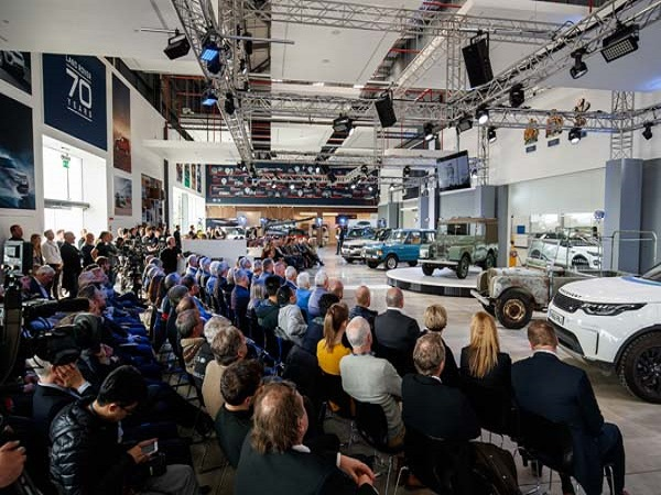 Land Rover celebrates its 70th anniversary with an action-packed day