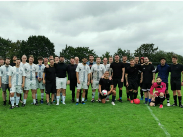 IT ALL KICKED AT HALEWOOD (FOR A GOOD CAUSE)