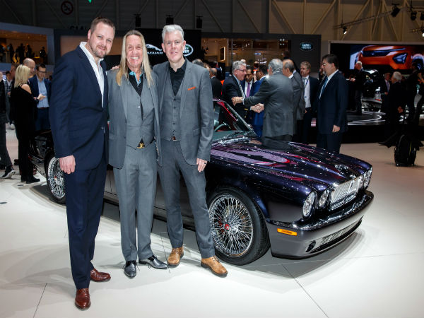 Jaguar Classic celebrates XJ's 50th by creating a greatest hits version