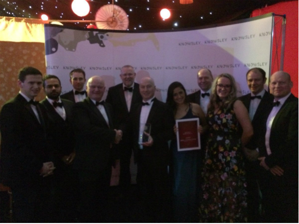 Halewood win 'Investment of the Year' at the Knowsley Business Awards
