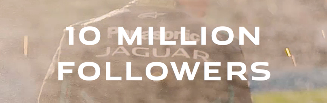10 million and counting: Jaguar revels in reaching Instagram milestone